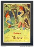 Buvard PELIKAN Num.1301. Encre, Gnomes (Ref. 99078) - Blotters