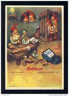 Buvard PELIKAN Num. 1925. Encre, Gnomes (Ref. 99696-1925) - Buvards, Protège-cahiers Illustrés