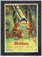 Buvard PELIKAN Num. 643 R. Encre, Gnomes (Ref. 99696-643R) - Blotters