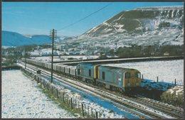 British Rail Nos 20032 And 20063 At Edale, Derbyshire - Dawlish Warren Postcard - Trains