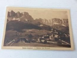 38 - SAINT ANDEOL Village De L'Eglise Rochers De La Balme écrite - France