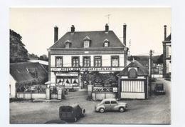 27--FRANCHEVILLE - Hotel Restaurant Chez Georgette--VOITURES 2CV  -- RECTO/VERSO- B35 - Autres Communes