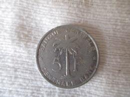 Congo Belge 5 Francs 1959 - Congo (Belge) & Ruanda-Urundi