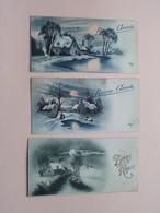 Bonne / Heureuse Année / Fête ( Zie / Voir Photo ) Anno 1938 / 4? ! - Nouvel An