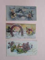 Bonne / Heureuse Année / Fête ( Zie / Voir Photo ) Anno 1938 / 40 - Nouvel An