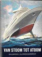 Z494 - JOHN WOOD TOBBACCO PRENTJESALBUM - VAN STOOM TOT ATOOM - Albums & Katalogus
