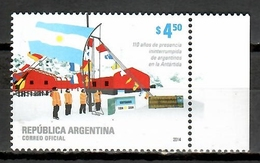 Argentina 2014 / Antarctica MNH Antártida Antarktis / Cu9725  29 - Tratado Antártico