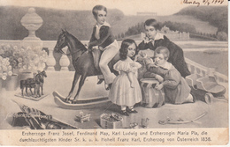 103 - Franz Josef, Ferdinand Max, Karl Ludwig Und Erzherzogin - Personaggi