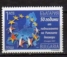 Bulgaria 2007 The 50th Anniversary Of The Treaty Of Rome. MNH - Unused Stamps