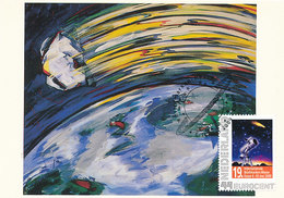 D35289 CARTE MAXIMUM CARD RR 2009 NETHERLANDS - COMET COMÈTE KOMET CP ORIGINAL - Astronomie