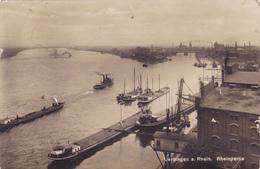 378/ Uerdingen A. Rhein, Rheinpartie, Schepen, Foto 1928 - Allemagne