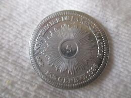 Suisse: Jeton Commémoratif De La Réforme 5 Sol?, Genève 1986 - Jetons & Médailles