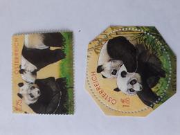 Bears PANDA  2003 AUSTRIA USED - Osos