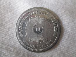 Suisse: Jeton Commémoratif De La Réforme 10 Sol?, Genève 1986 - Jetons & Médailles