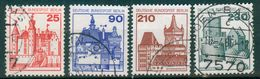 Berlin 1978 / MiNr.   587 – 590    O / Used  (d2208) - [5] Berlin