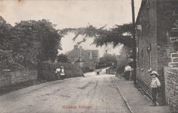 HARSTON Village    TB PLAN - Angleterre