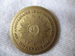 Suisse: Jeton Commémoratif De La Réforme 25 Sol?, Genève 1986 - Jetons & Médailles
