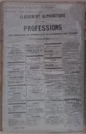 Annuaire Didot-Bottin - France Classement Par Professions Et Par Villes De France - Année 1920 - Annuaires Téléphoniques