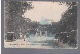 MAURITIUS  Palais Du Governement Ca 1910 OLD POSTCARD 2 Scans - Mauritius
