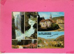 CP.  39.  LES  PLANCHES  EN  MONTAGNE.  MULTIVUES - France
