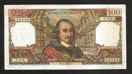 FRANCE - BANQUE De FRANCE - 100 Francs CORNEILLE  (H.7 - 4 - 1966 ) - 1962-1997 ''Francs''