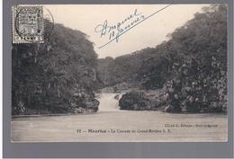 MAURITIUS  La Cascade De LGrand- Riviere Ca 1910 OLD POSTCARD 2 Scans - Mauritius