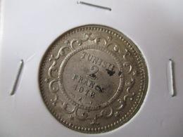 Tunisie: 2 Franc 1916 (silver) - Tunisie