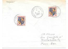 Ambulant Belfort à Paris 1er 1954 - Marcophilie (Lettres)