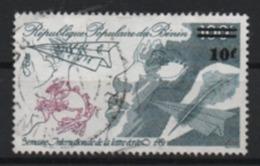 Benin 1983 Intern. Briefwoche MiNr.; 328 Aufdruck 10/100 Gestempelt Used; Scott: 558, Yt: 572 - Benin - Dahomey (1960-...)