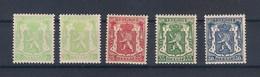"""Belgique: Lot De """" Petit Sceau De L'état"""". - 1935-1949 Klein Staatswapen"""