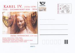 Rep. Ceca / Cart. Postali (Pre2016/15) Anno Lussemburghese - Carlo IV (1316-1378); Anna Di Świdnica (1339-1362) - Interi Postali