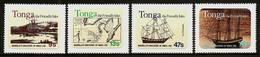 TONGA 1981 - DISCOVERY Of VAVA'U By Maurelle - Selfadh. 4v Mi 794-797 MNH ** Cv€12,00 V363 - Tonga (1970-...)