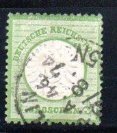 Allemagne / N 14 / 1/3 G Vert / Oblitéré / Côte 20 € - Used Stamps