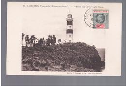 """MAURITIUS Phare De La """"Pointe Aux Caves"""" Light- House Ca 1910 OLD POSTCARD 2 Scans - Mauritius"""
