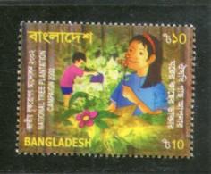 Bangladesh 2002 Tree Plantation Campaign Childrens  Sc 652 MNH # 2207 - Bangladesh