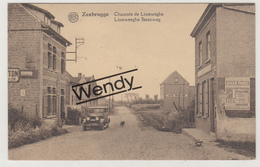 Zeebrugge (Lisseweeghe Steenweg Met Oude Auto) - Zeebrugge
