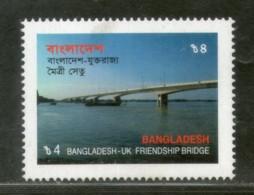 Bangladesh 2002 United Kingdom Friendship Bridge Architecture Sc 661 MNH # 2589 - Bangladesh