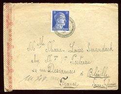 Allemagne - Enveloppe De Frankfurt Pour La France En 1943 - Réf O16 - Briefe U. Dokumente