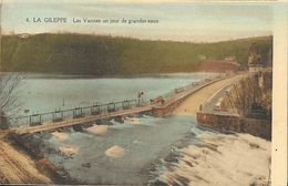 Barrage De La Gileppe - Les Vannes Un Jour De Grandes Eaux - Edition Hayet-Faymonville - Carte Non Circulée - Gileppe (Barrage)