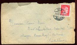 Allemagne - Enveloppe De Ulm Pour Bad Lauterberg En 1943 - Réf O18 - Briefe U. Dokumente
