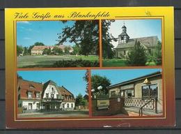 Deutschland Ansichtskarte BLANKENFELDE Gesendet 1997, Mit Briefmarke - Blankenfelde