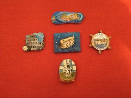 Lot De Magnets De Plusieurs Pays De Collection - Tourisme
