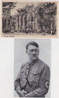 GERMANY DANZIG 1939 (19.9.) PICT.PC MINT ; HITLER PICT.PC STAMPED DR Mi 716 (illustr.postmark) - Otros