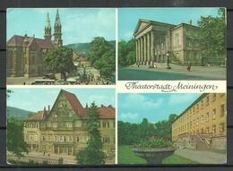 Deutschland DDR MEININGEN (gesendet 1990, Mit Briefmarke) - Meiningen