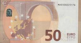 50 EURO PORTUGAL  MD  M002  -  DRAGHI   UNC - EURO