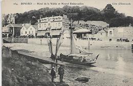 35, Ile Et Vilaine, DINARD, Hotel De La Vallée Et Nouvel Embarcadère, Scan Recto-verso - Dinard