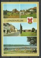Deutschland DDR LENZEN Kr Ludwigslust (gesendet 1995, Mit Briefmarke) - Lenzen