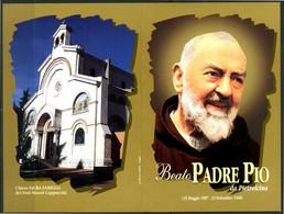 SANTINO - Beato Padre Pio Da Pietrelcina - Santino Pieghevole Con Preghiera, Come Da Scansione. - Imágenes Religiosas