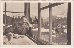 GERMANY 1938 (4.8.) PHOTO PC HITLER (Gschwandtnerbauer Inn) USED ADVERT PM GARMISCH-PARTENKIRCEN - Allemagne