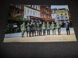 Guerre ( 111 ) Oorlog 1914 - 1918  Armée Leger  Duitse Soldaten  Soldat Soldaat  Brussel  Bruxelles Brüssel Deutsche - Guerra 1914-18